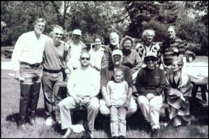 From left to right: front row--Hunter Banks; middle row--Brian Gordy, Barry Banks, Helen Steussy, Diana Torke; back row--Ron Bonham, Dennis Pickens, Hugh Brown, Amy Kress, Charles Mortensen, Sheryl Myers, Timothy McBride, and Ron Gyure.