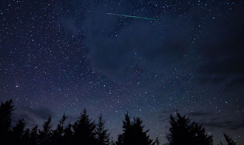 Wish on a star? Try a whole meteor shower