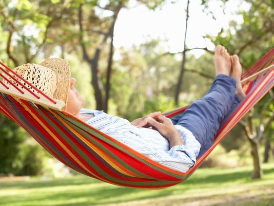 The Perfect Time for Relaxing Under a Tree is Now